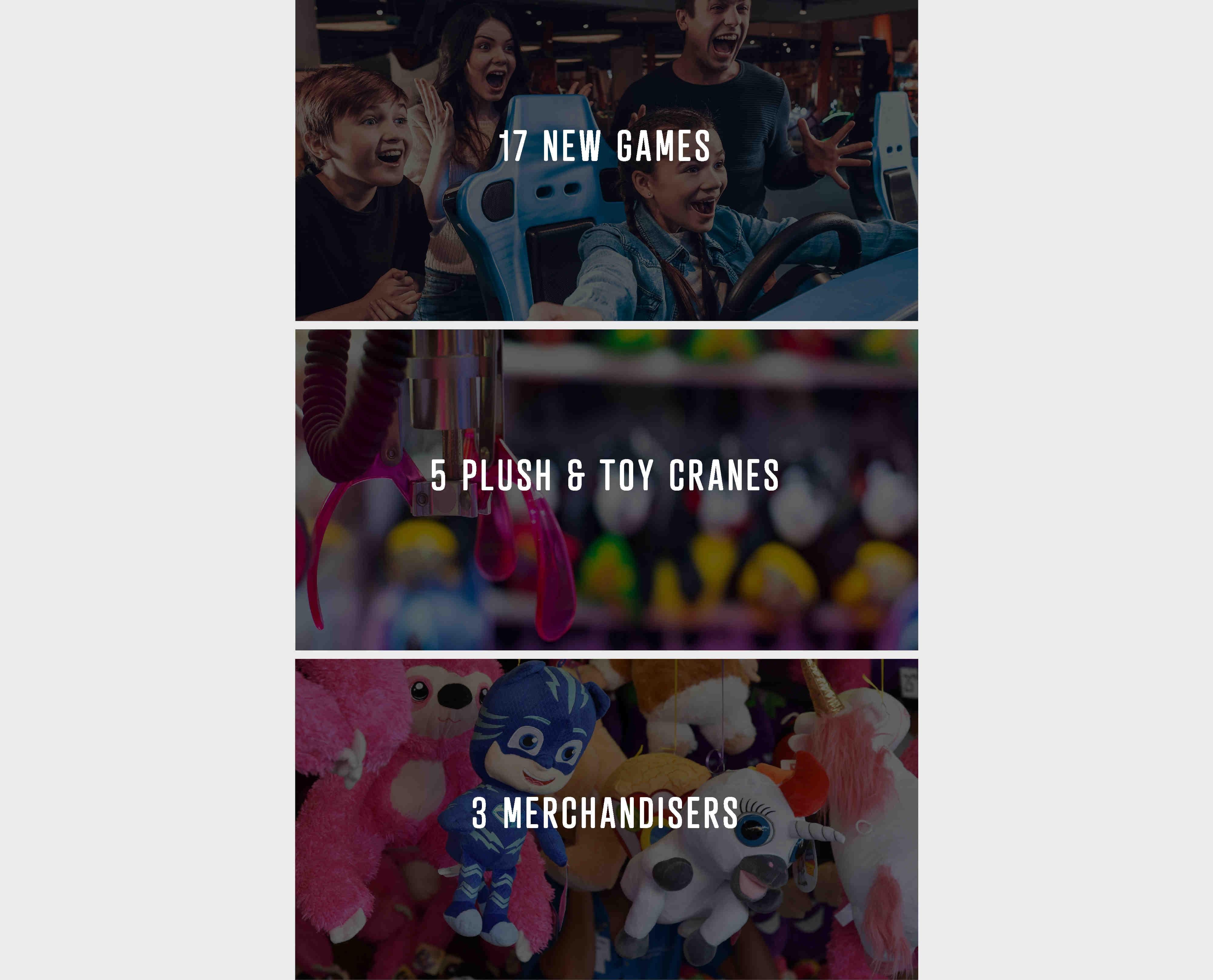 Arcade information