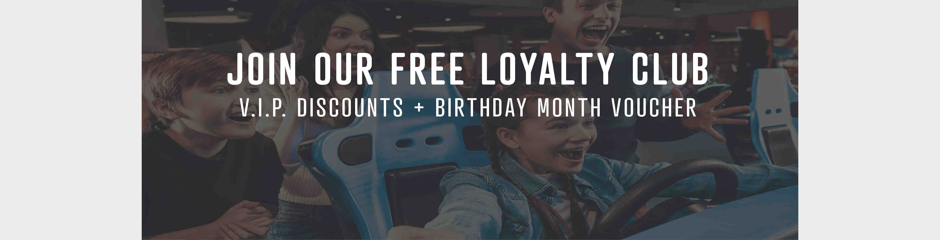 Join our free loyalty club