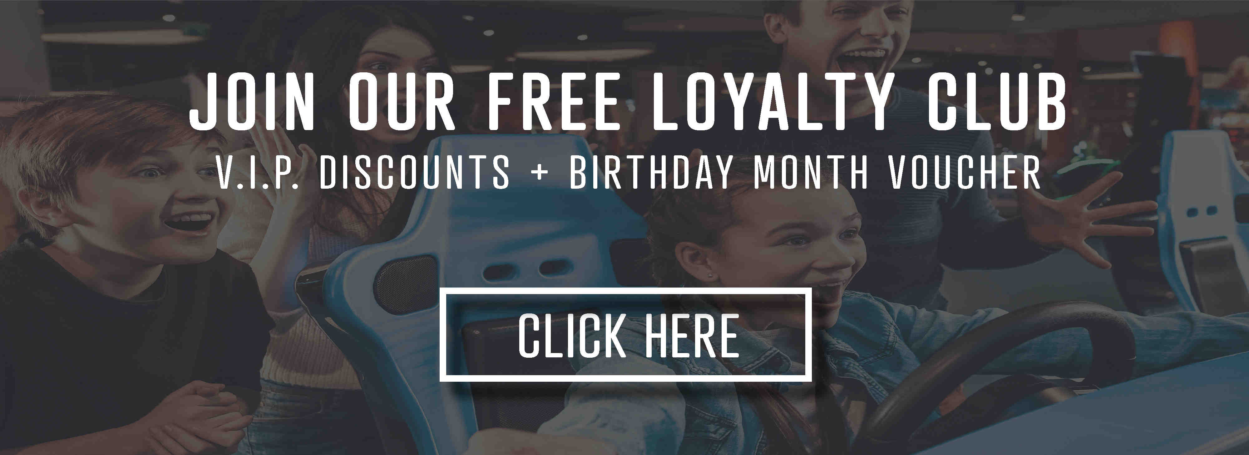 Join our free loyalty club - click here